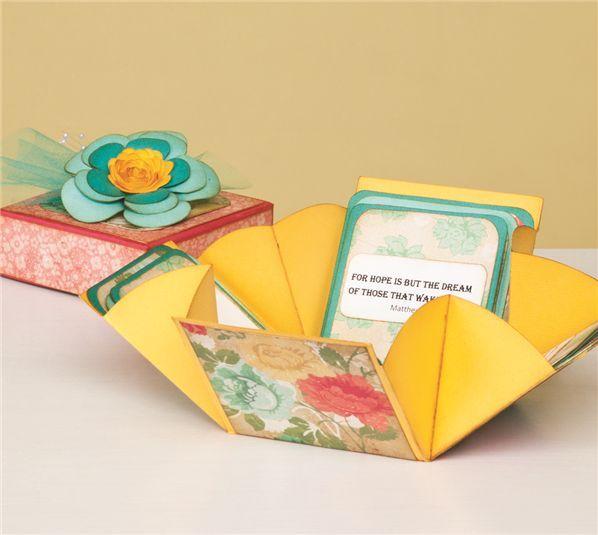 cricut mini books instructions