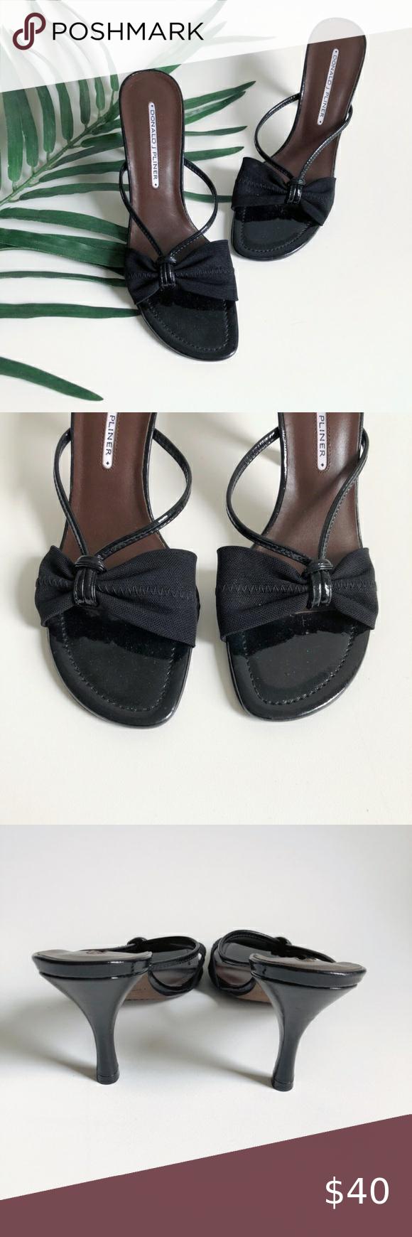Donald J Pliner Fabric Strap Kitten Heel Sandals In 2020 Kitten Heel Sandals Shoes Women Heels Sandals Heels
