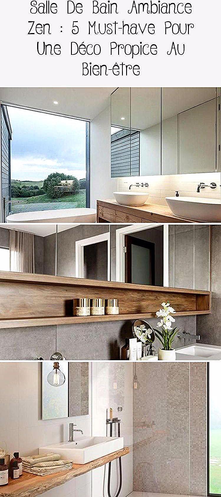 Salle De Bain Ambiance Zen 5 Indispensables Clem Around The Corner Meuble De Salle De Bain Double Lavabo Vasques Blanches Pe In 2020 Home Decor Cozy Bathroom Decor