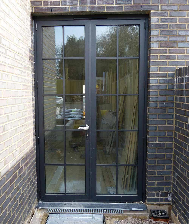 Aluminium Crittall Replacement Doors London Surrey Kent Aluminium French Doors French Doors Exterior French Doors Patio