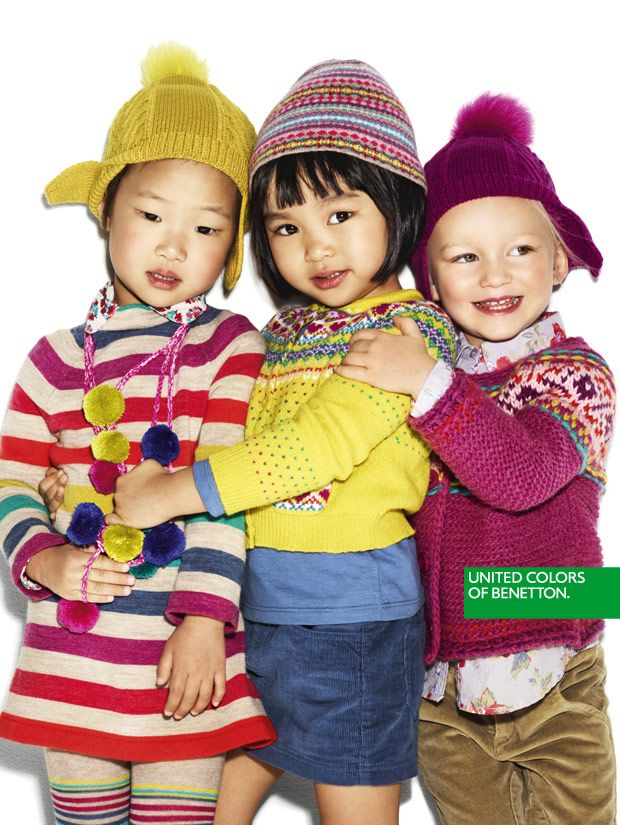 ef2328b2122 United Colors of Benetton's Kids Advertising campaign Winter 2012 ...