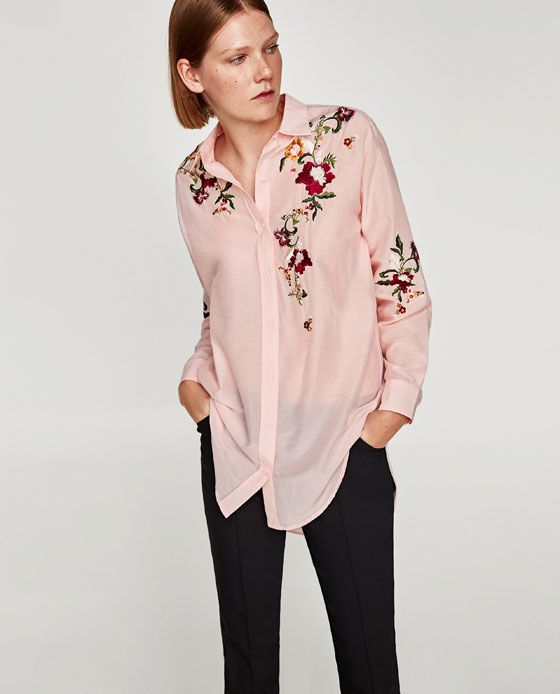 34a9bff8022fd FLORAL EMBROIDERY SHIRT-View all-TOPS-WOMAN