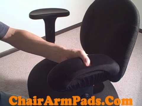 Superbe Chair Arm Pad Armrest Covers Gel Or Memory Foam Quick Demo