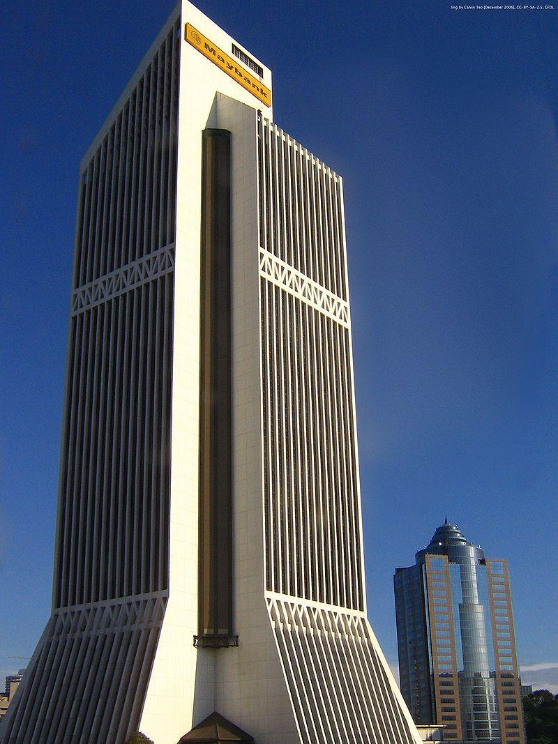Maybank Skyscraper Luxury Services Kuala Lumpur City