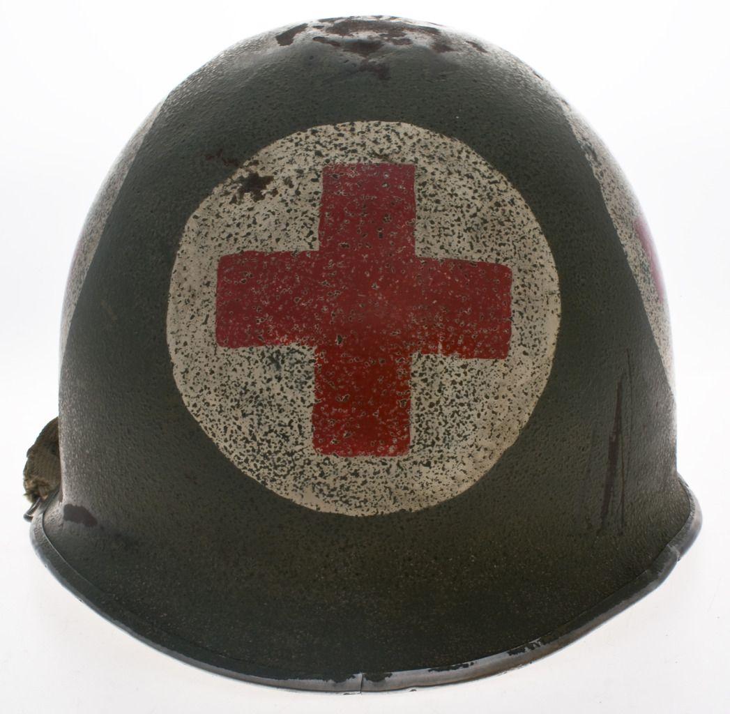 WWII Medic Helmet