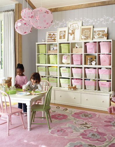 Daughters organized room