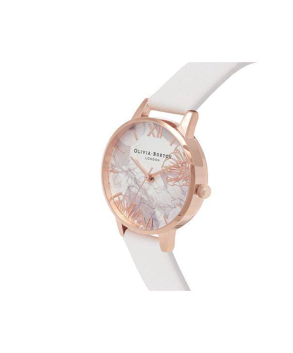 Ladies Blush & Rose Gold Watch   Olivia Burton London   Olivia Burton US