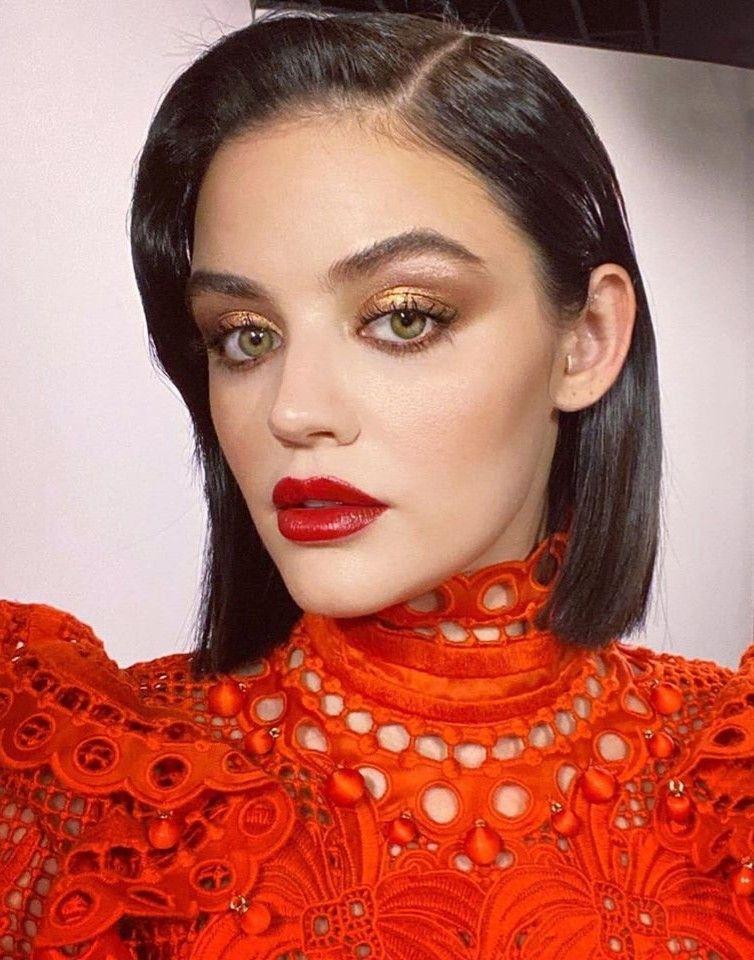 Lucy Hale Lucy hale makeup, Lucy hale style, Lucy hale