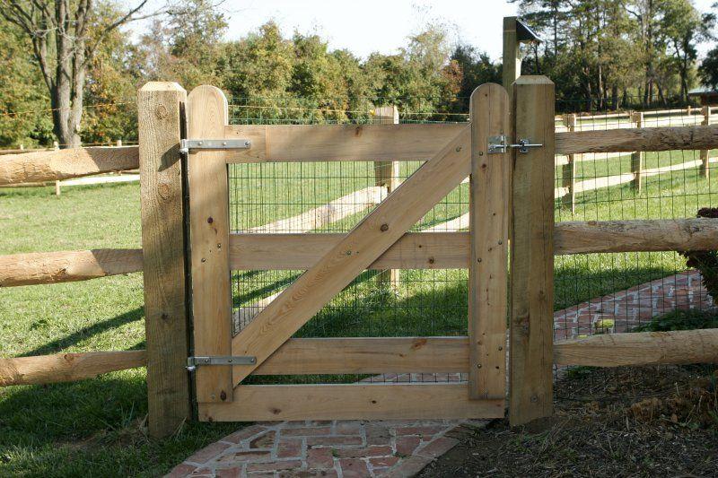 Custom Wood Fencing Fence Red Cedar Cypress