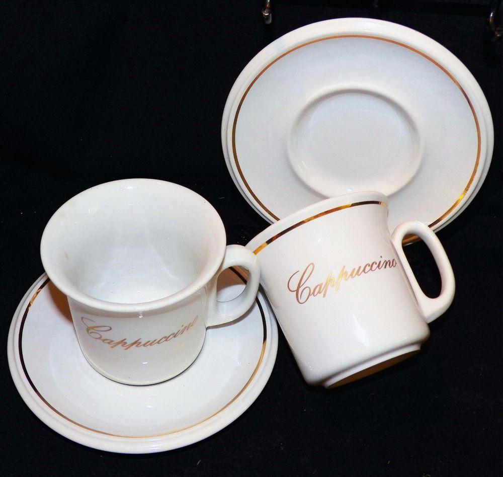 Retired ACF Made in Italy Cappucino Coffee Espresso 6 oz