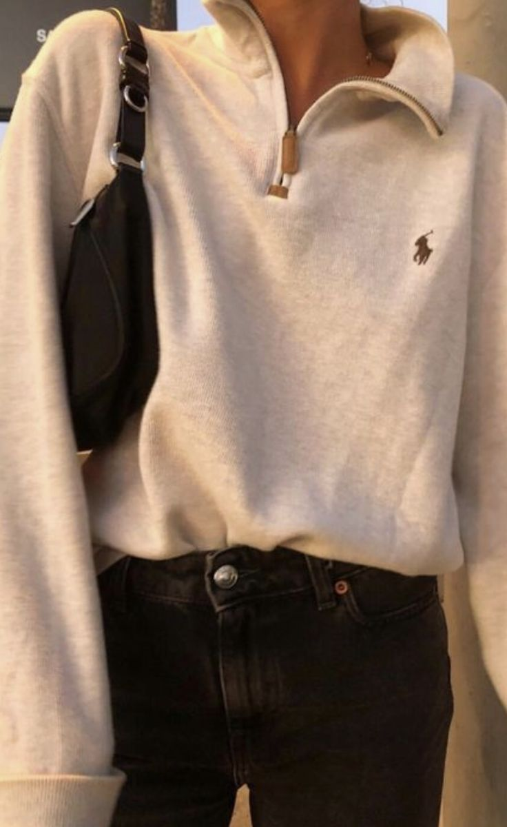 ralph lauren pullover mit reißverschluss damen