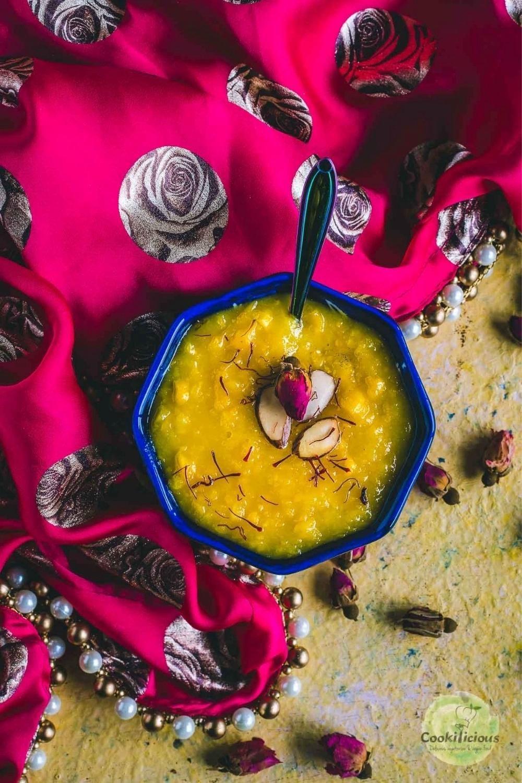Vegan Corn Pudding - Jhajhariya