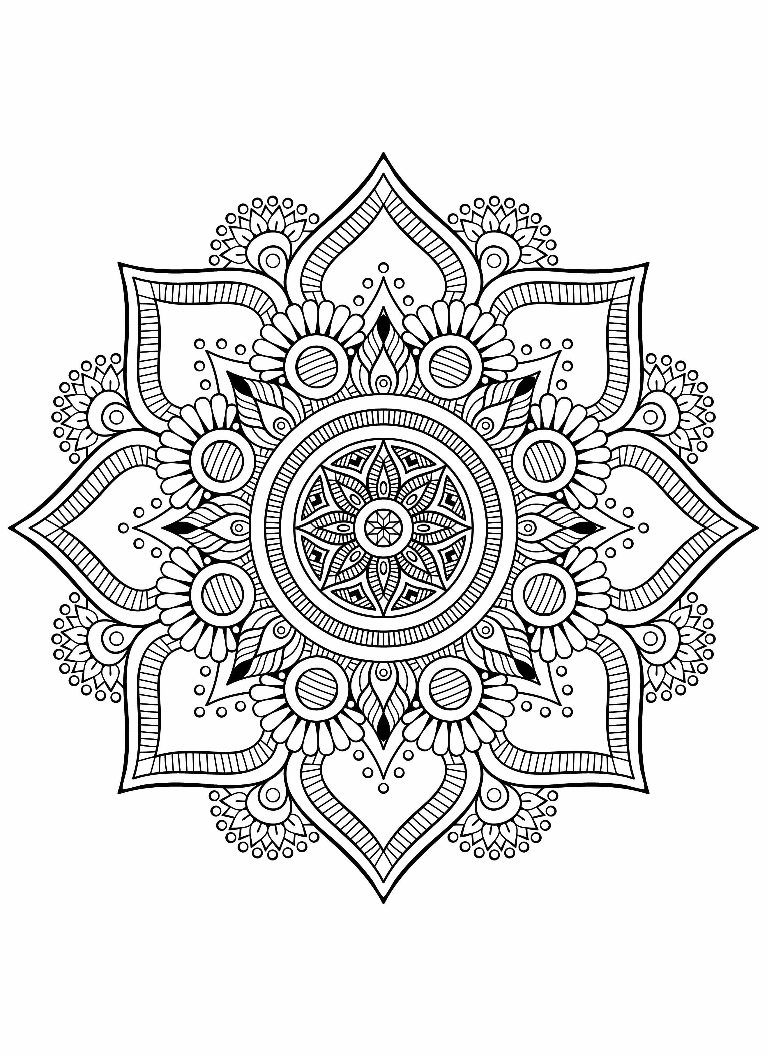 Mandala Di Livia Marocco