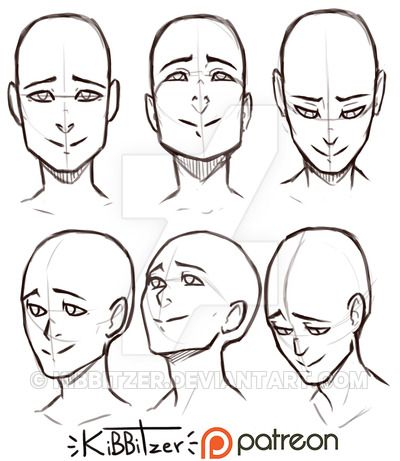 Head Up And Down By Kibbitzer Deviantart Com On Deviantart Drawing Reference Art Reference Poses Drawing Tips