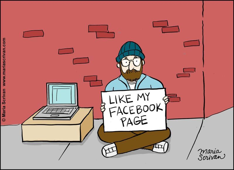 Image result for facebook likes comic
