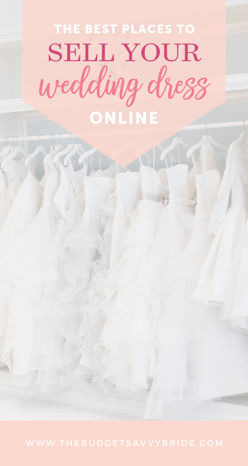 2d49e9782 What should you do with your dress after the big day? How about selling it  and getting some money back! We share the best places to sell your wedding  dress ...