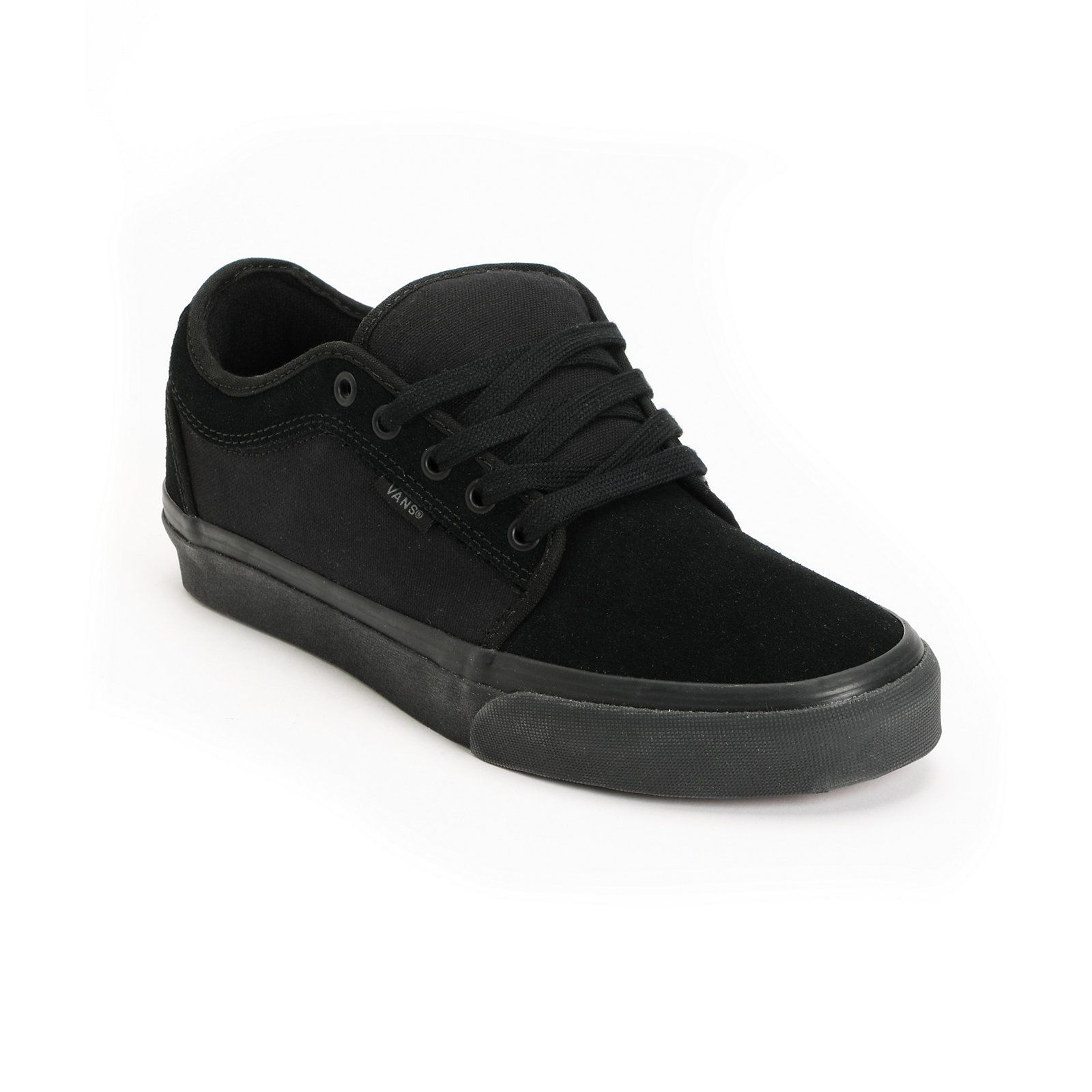 Vans Chukka Low All Black Skate Shoes | Vans chukka low, All