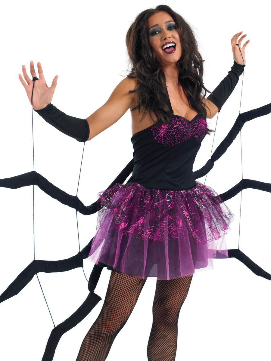 Adult Black Widow Spider Costume | Carnavales y Ropa
