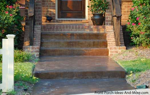 Walkway Ideas to Create Exquisite Curb Appeal | Concrete walkway ...