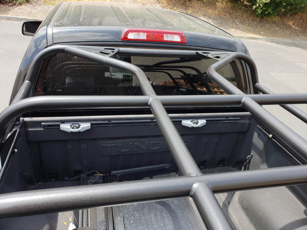 2007 to 2019 Tundra CrewMax Bed rack Tundra crewmax