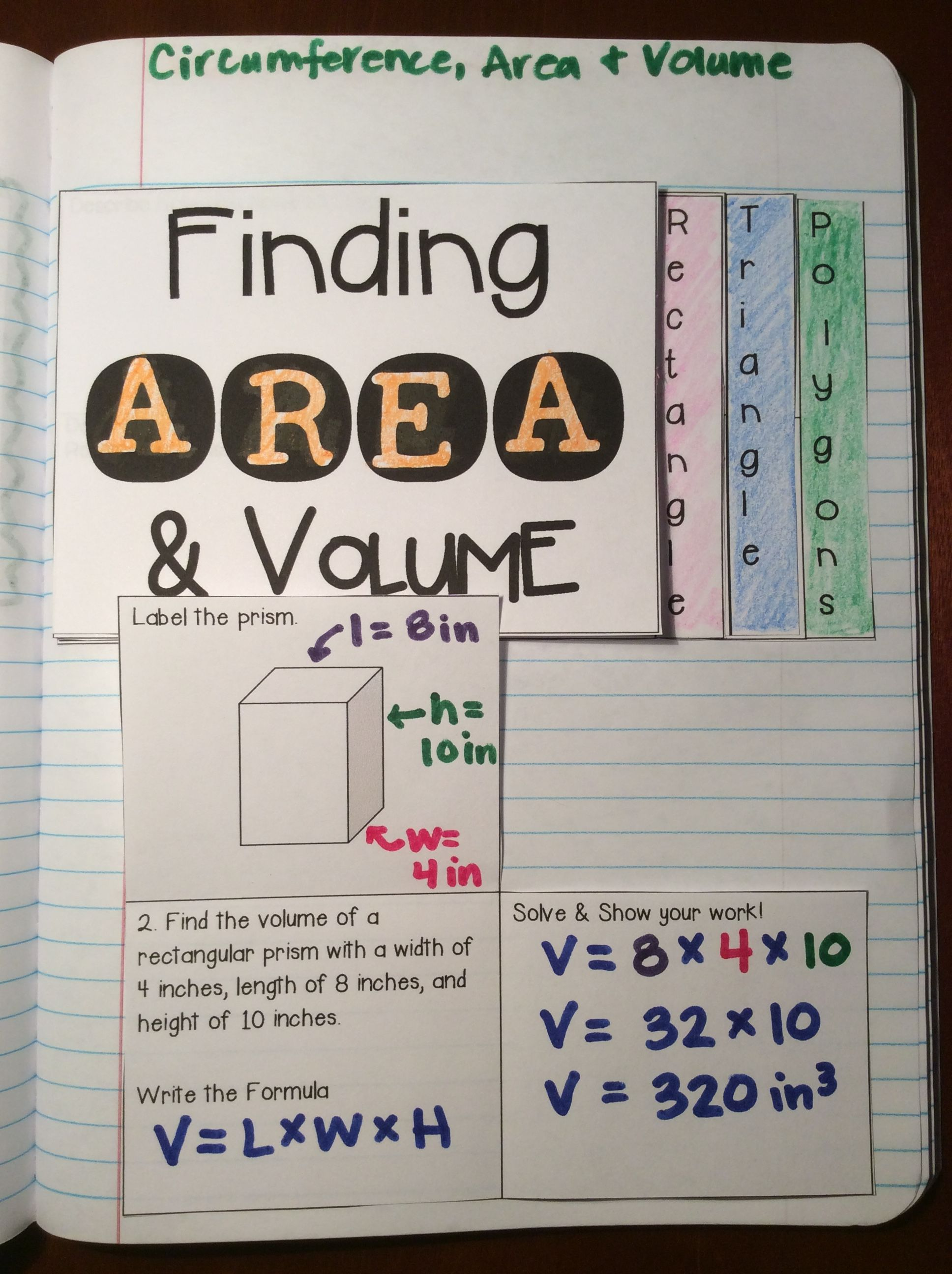 Finding Circumference Area And Volume Of Circles
