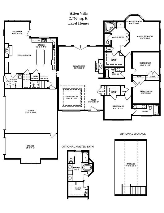 Triple wide mobile home floor plans triple wide for Luxury modular home plans