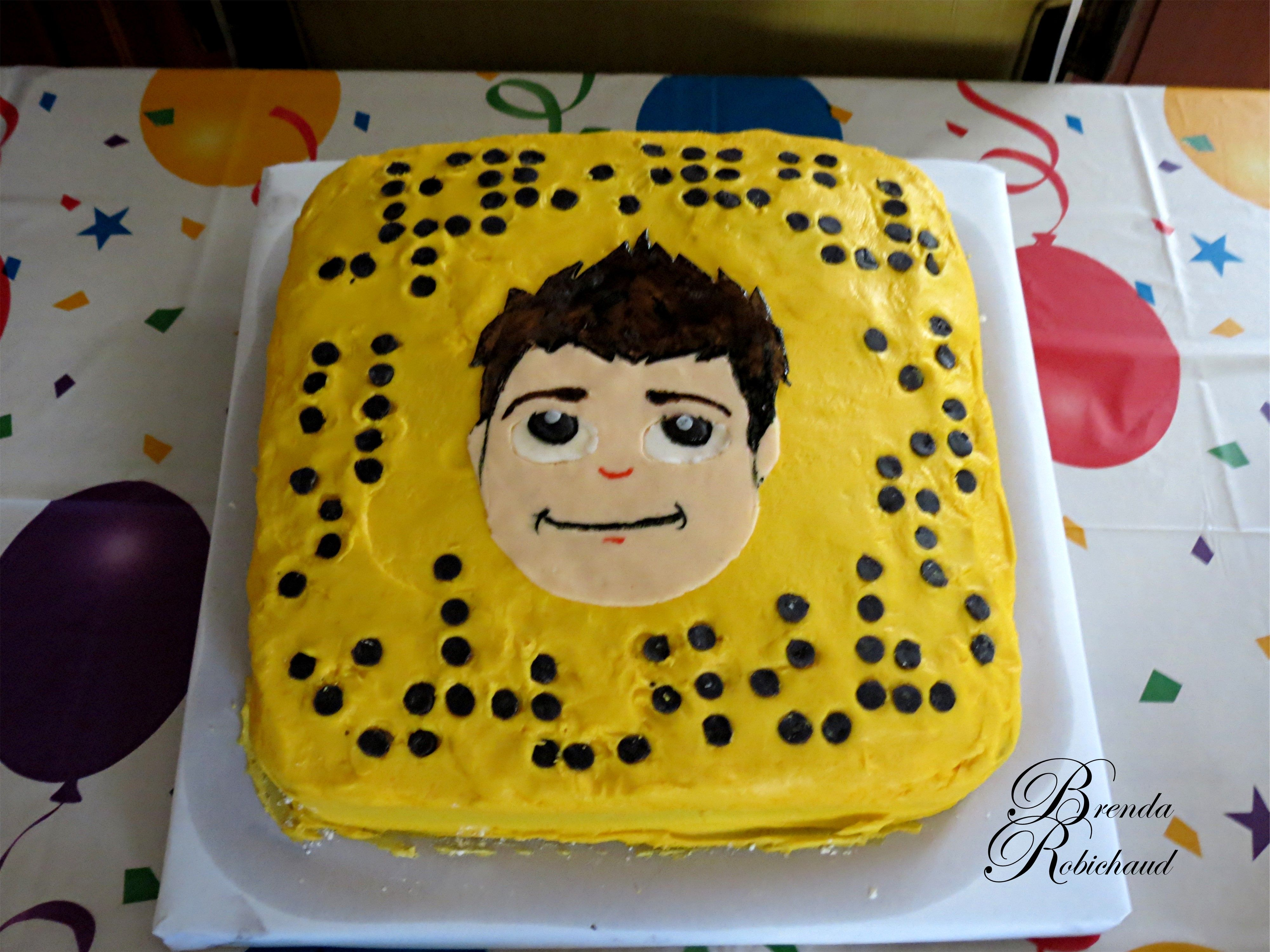 My Youngest Grandsons 14th Birthday Cake A Duplicate Of His Snap