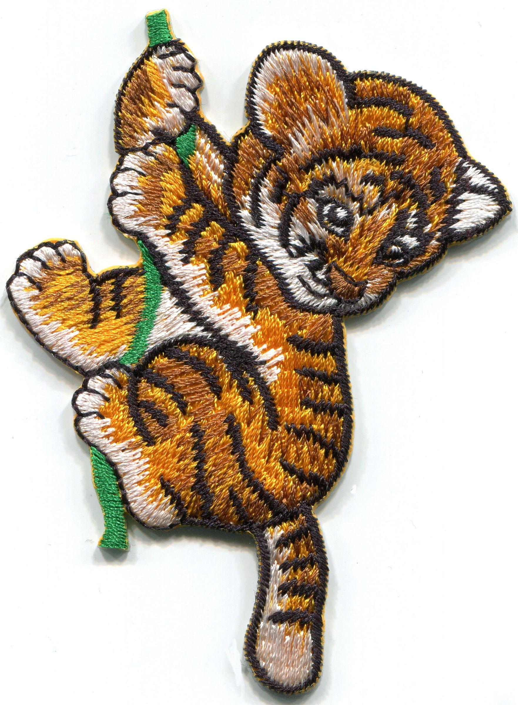 Wild Cat TIGER Zoo Animal Patch 00C