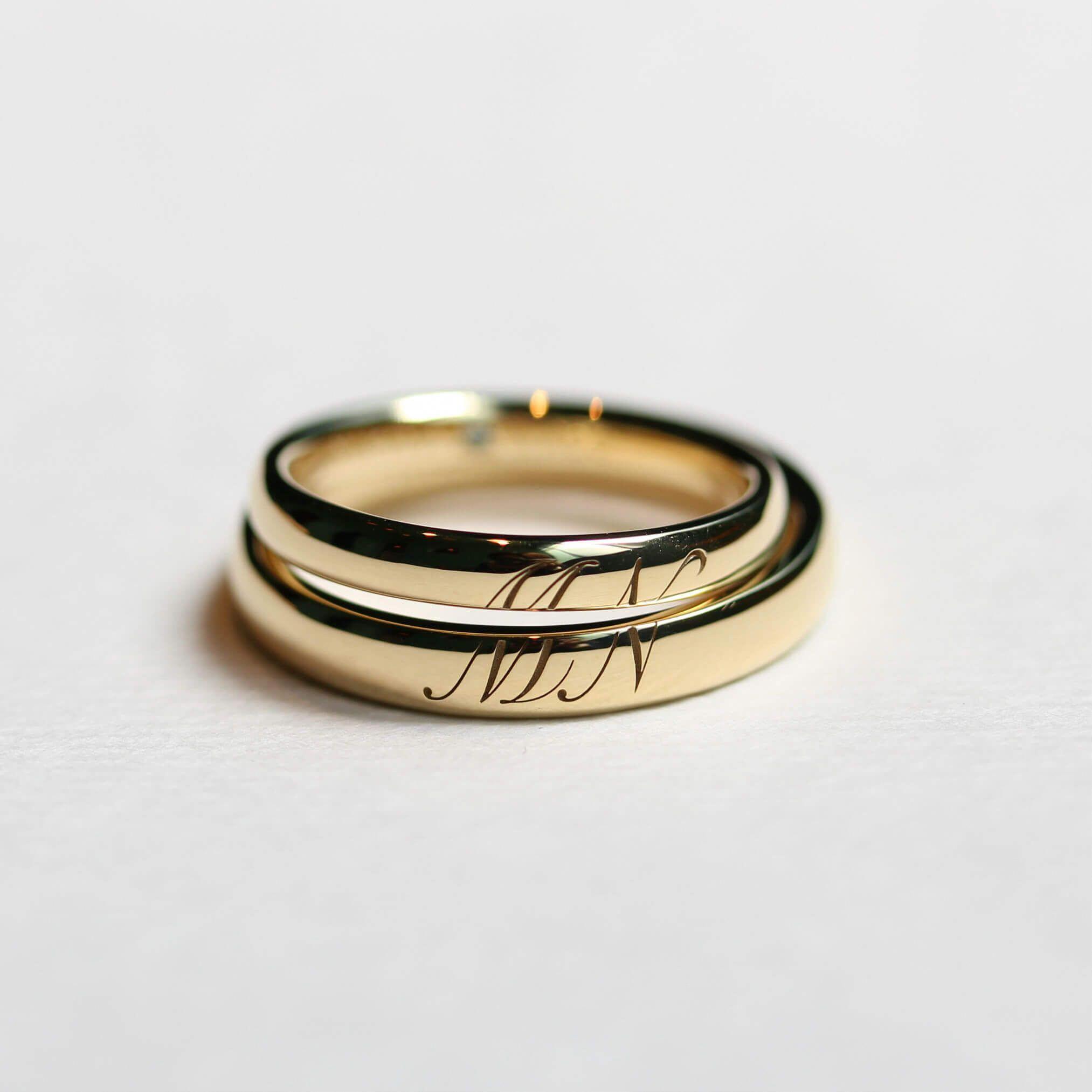 Engagement Rings Hobart: 14k Rose Gold Round 7mm Mortganite Solitaire Bezel