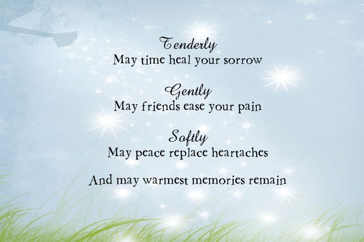 Condolence Examples