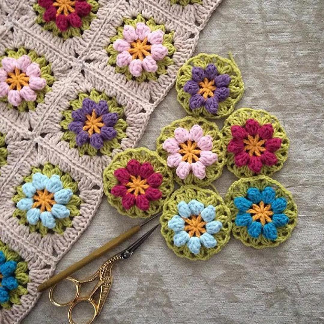 Crochet Poocorn Granny Nesime Erciğer At Nesimerciger On Instagram