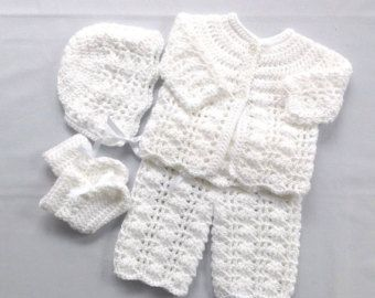 Unique baby crochet set related items | Etsy