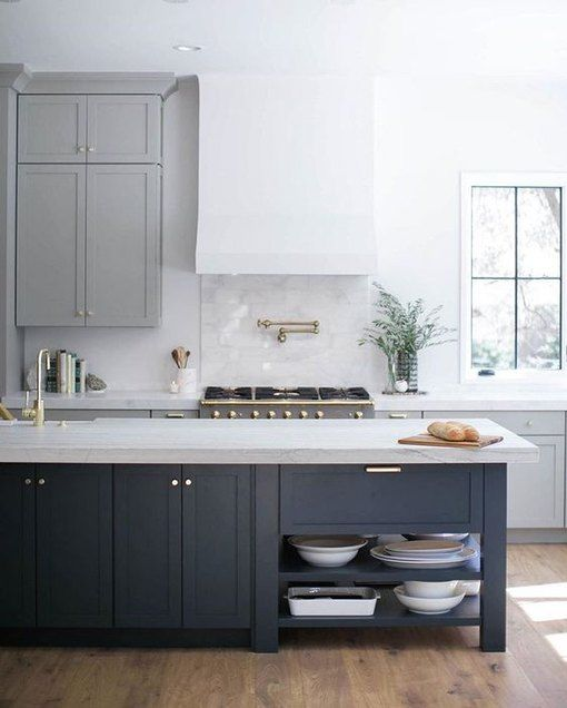 Here, the Best Gray Kitchen Paint Colors So You Don't Have to Sample 50 Shades | Hunker