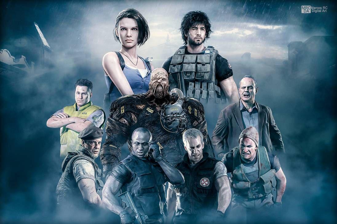 Wallpaper Resident Evil 3 Remake By Mark Rc97 On Deviantart In
