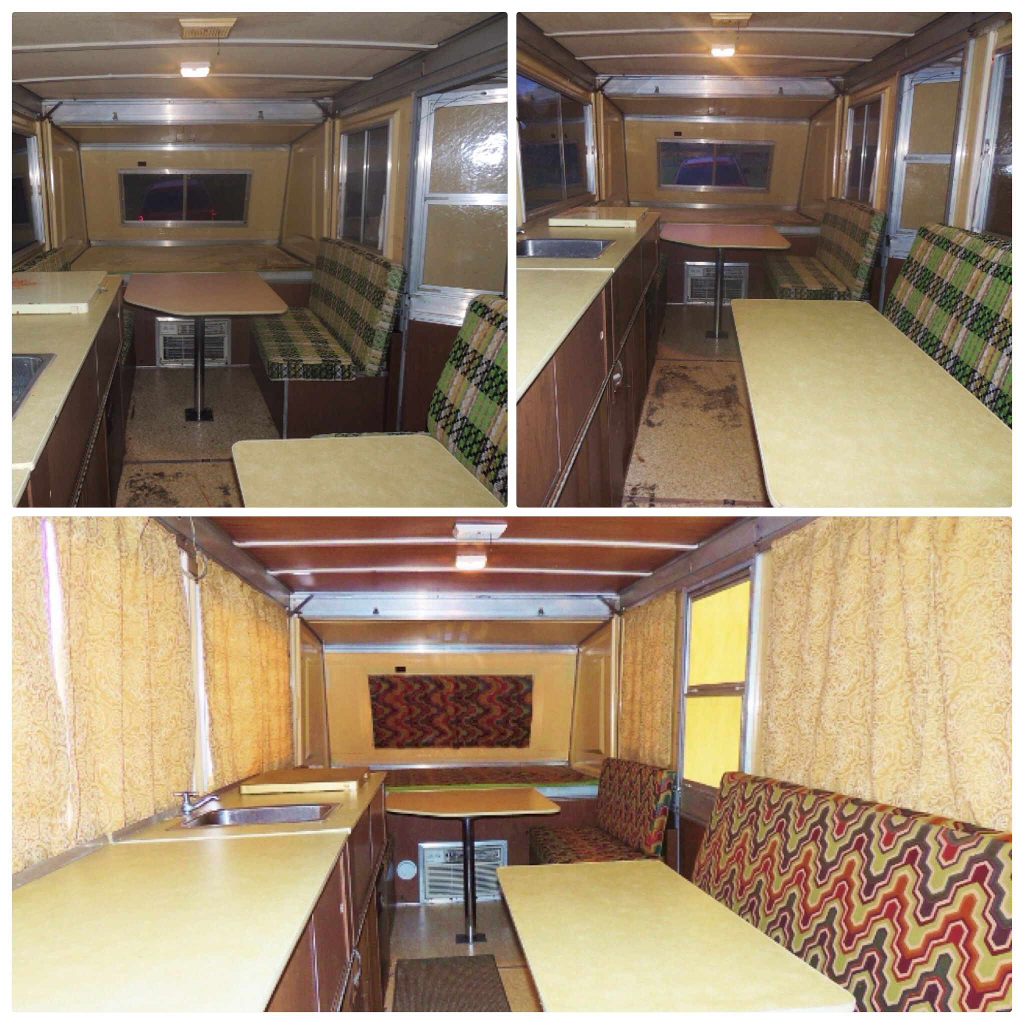 Apache Before And After Remodel Apache Camper