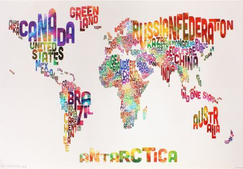 buy text map of the world poster from our posters range at tesco direct we stock a great range of products at everyday prices