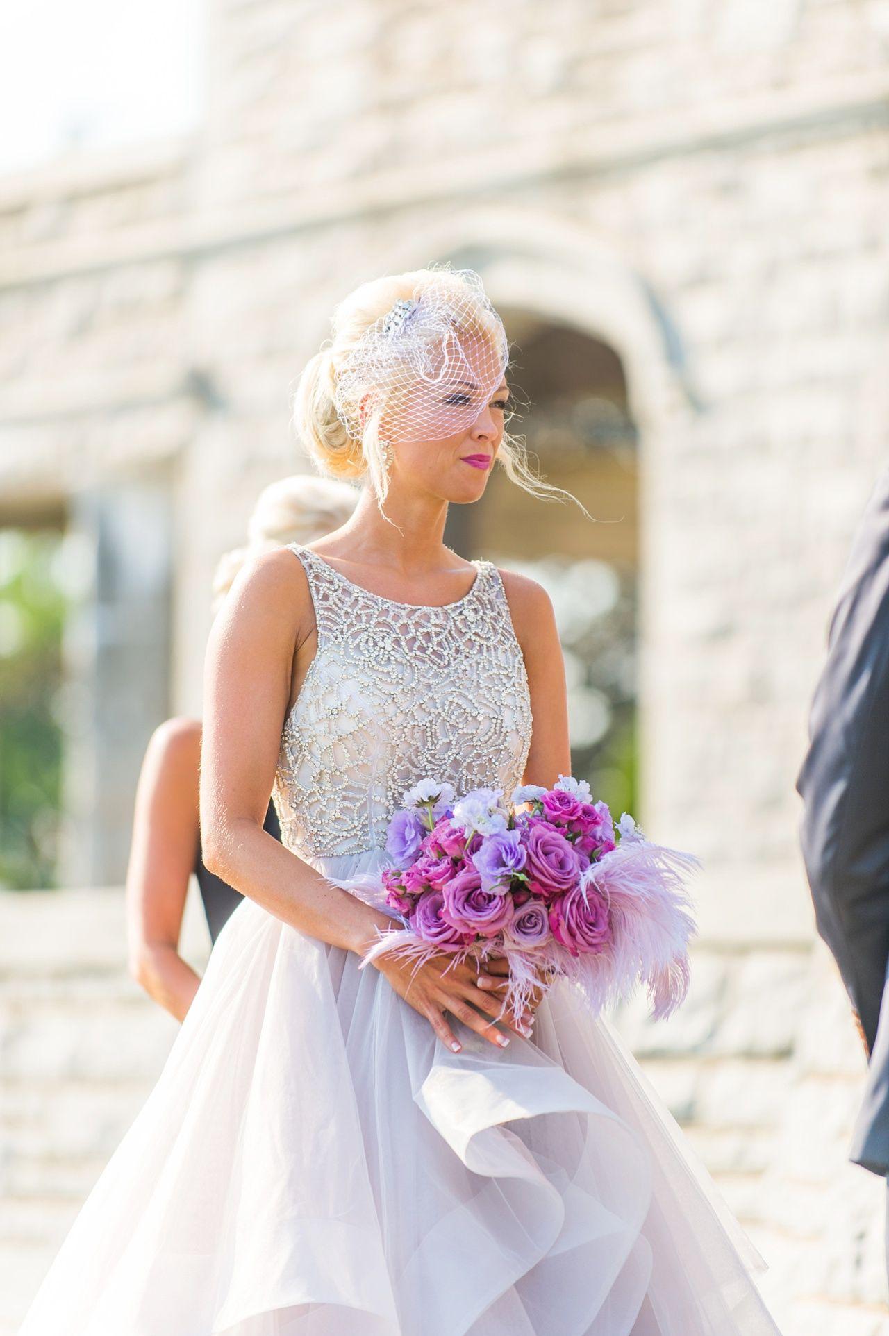 Hayley paige dori wedding dress  Branford House Wedding captured by Justin u Mary with hair by Dana