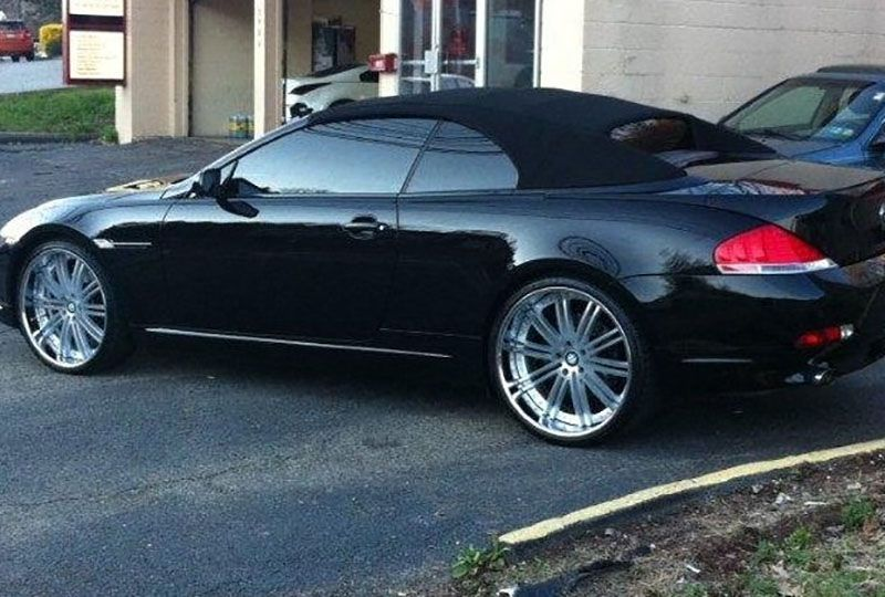 Bmw 750 On 24s Bmw 7 Series On 24 Inch Ac Forged Wheels Photo