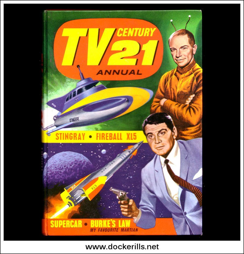 Tv Century 21 Annual For 1966 Gerry Anderson Nostalgic Books Comics Gerry Anderson
