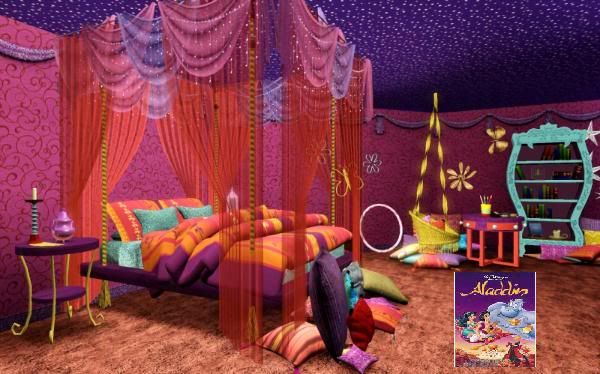 Aladdin inspired room i 39 ll take one please home for Aladdin decoration ideas