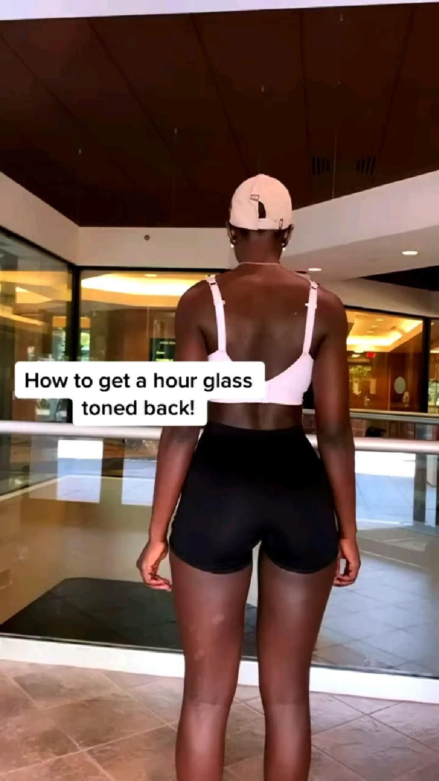 How to get a hourglass ⏳ toned  back