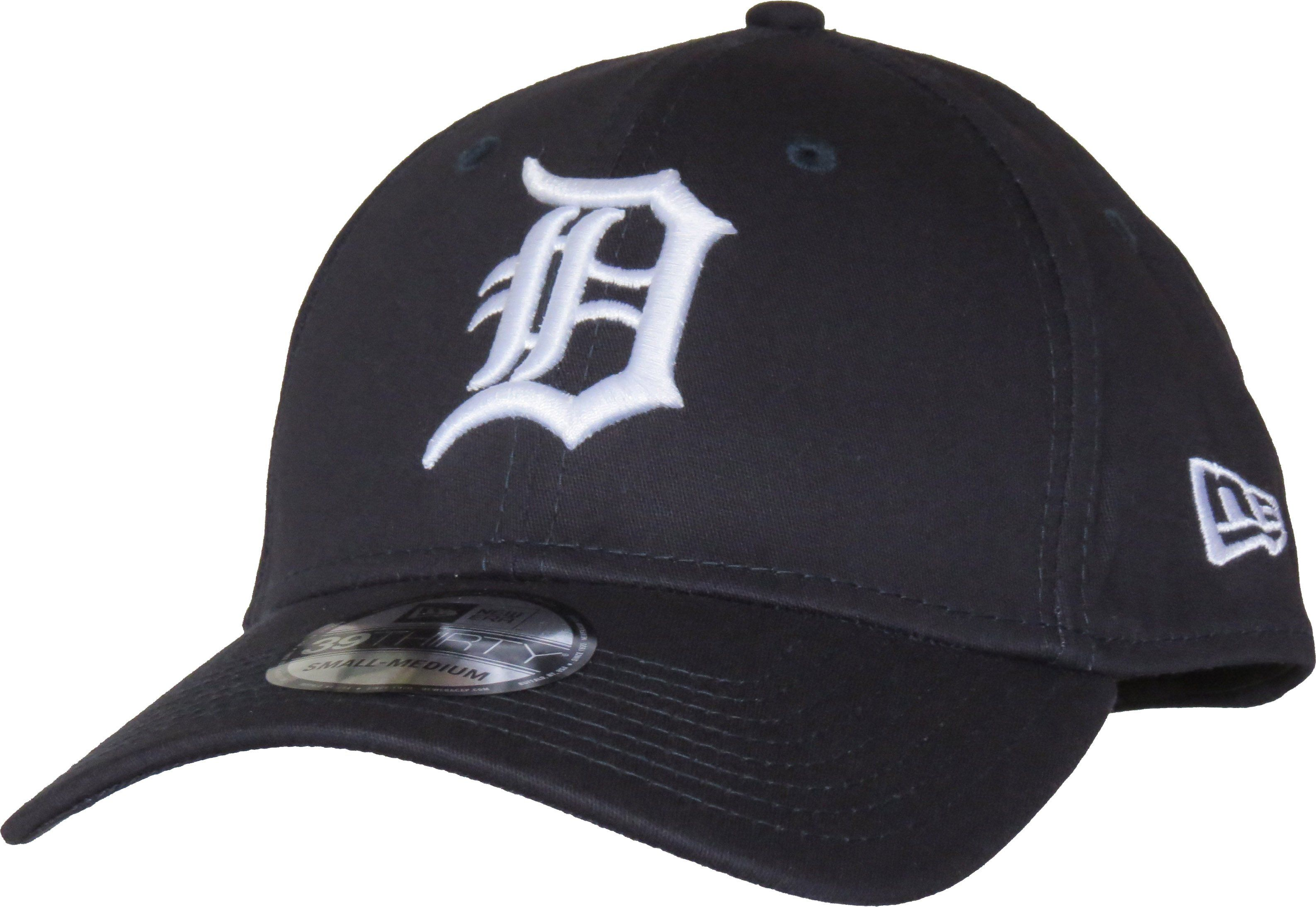 Detroit tigers new era 3930 team essential stretch fit