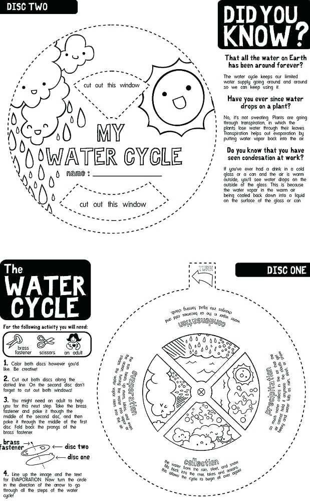 Water Cycle Worksheet Pdf Water Cycle Worksheet Fill In