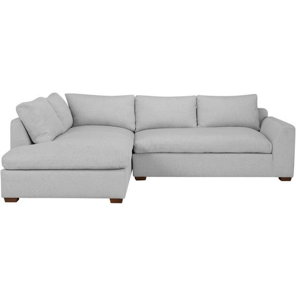 John Lewis Tortona LHF Chaise End Sofa ❤ liked on Polyvore ... on chaise lounge bed, antique walnut bed, chaise sleeper bed, double chaise sofa bed, chair bed,