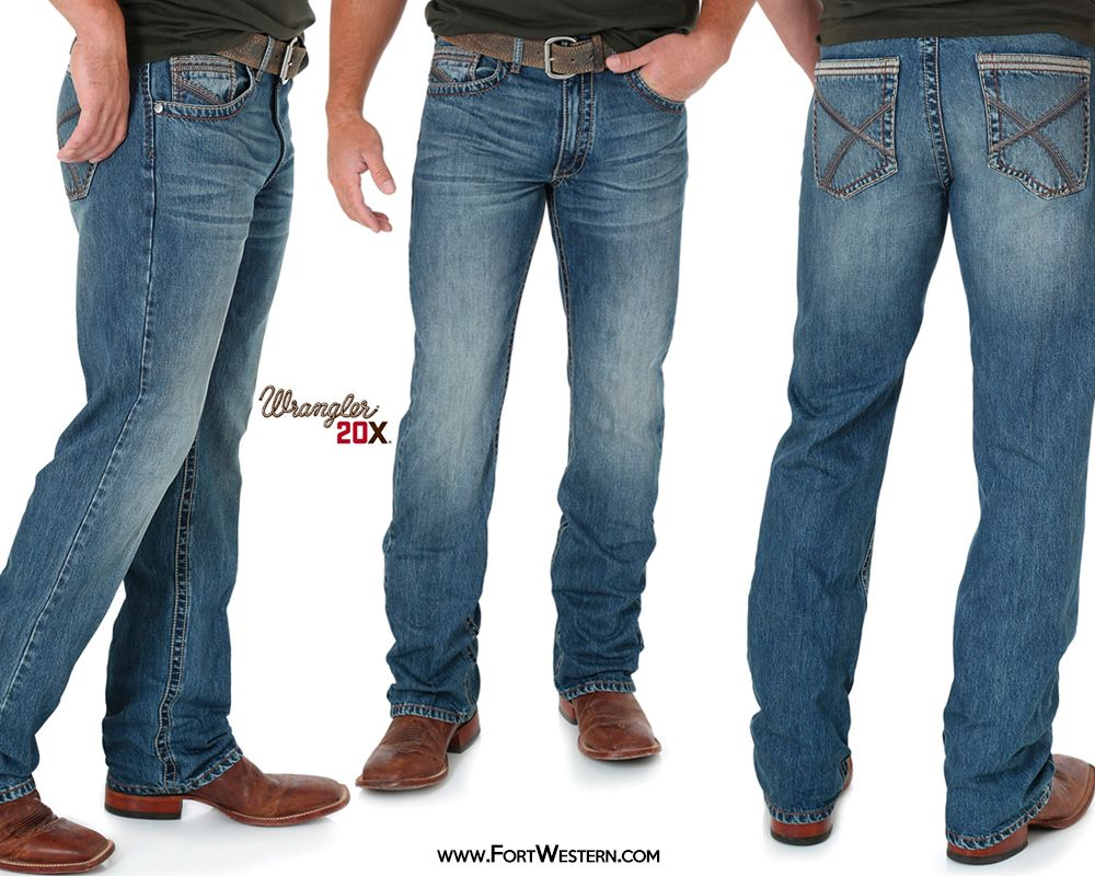 Wrangler® 20x® Men's Wyatt 42 Vintage Bootcut Jeans | My Style ...