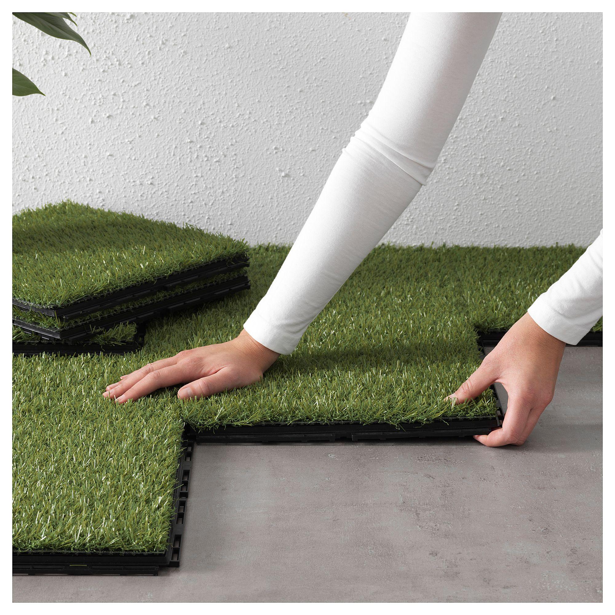 Runnen Decking Outdoor Artificial Grass 9 Sq Feet 0 81 M