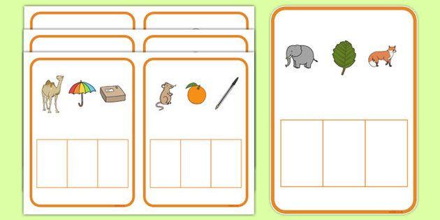 Secret Word Phonics Game Phase 2 $ | Literacy- phonics, word ...