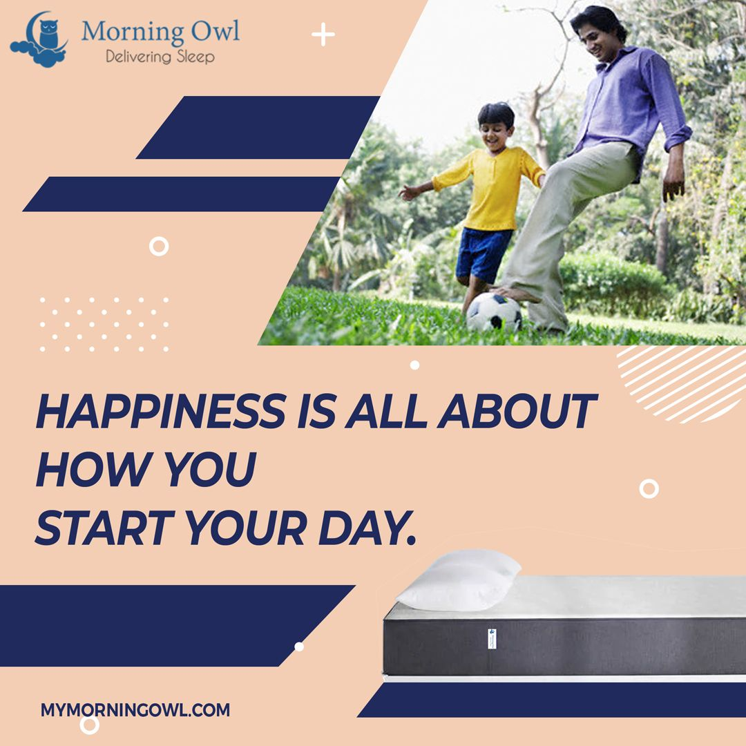 When you sleep on a natural latex mattress, you wake up full of energy and enthusiasm. Find out more at www.mymorningowl.com #latexmattress #naturalsleep #nature #goodnightsleep #100nights #naturallatexmattress #comfortablesleep #deepsleep #morningowlmattress #mothernature #healthysleephabits #sleep #healthysleep #chemicalfree #luxurymattresses #vocalforlocal #vocalforlocalindia #vocalfornature