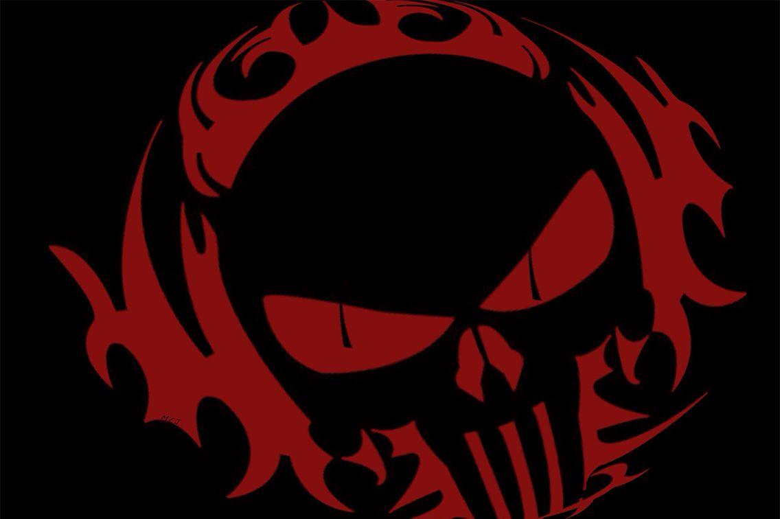 Red Punisher Skull Skull Wallpaper Black Skulls Wallpaper Punisher Skull Decal