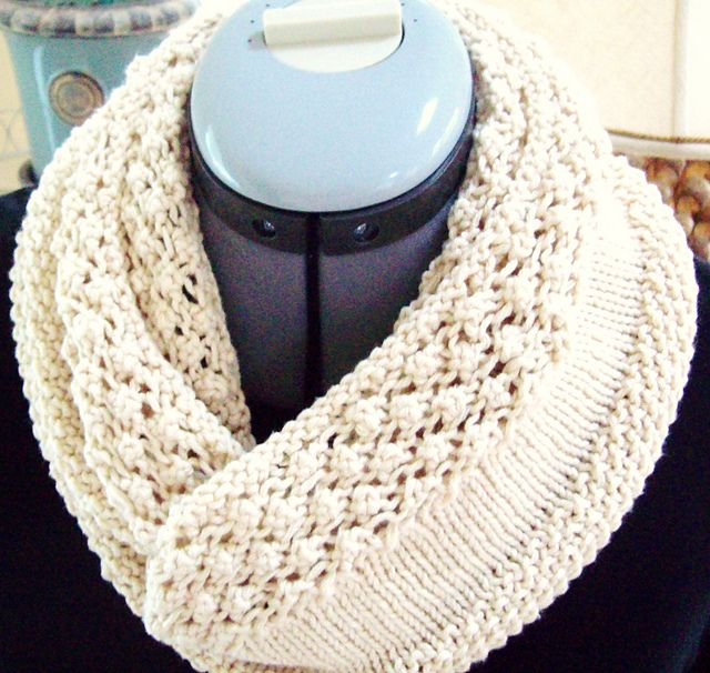 String of Pearls Cowl pattern by Knitting On The Beach Designs ...